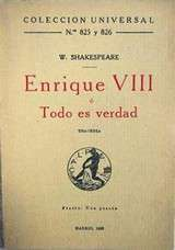 frases de Enrique VIII, William Shakespeare